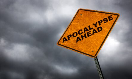 Apocalypse Ahead Sign