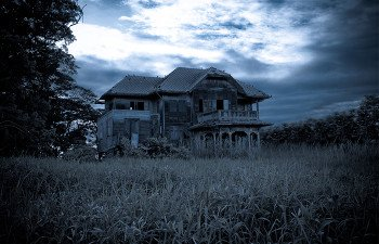 Old Haunted Farm House